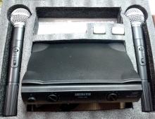 Професионални двойка микрофони WEISRE PGX-58