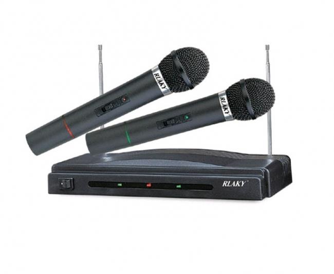 Комплект безжични микрофони RLAKY WR-306