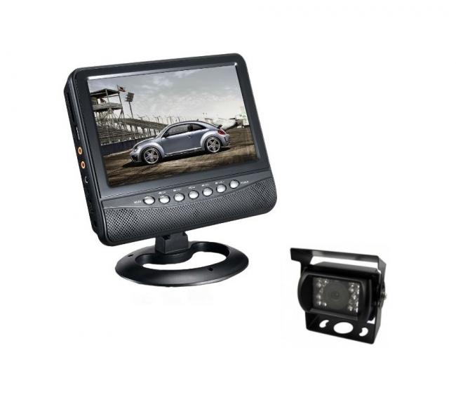 9-инчов монитор PNI NS911D + водоустойчива камера за паркиране