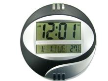 Стенен часовник, температура, аларма Kenko KK-3885