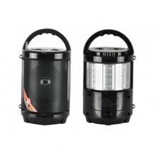 MP3 аудиосистема-тонколона с USB, SD и с вградена батерия, FM радио, фенер