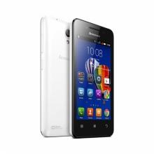 Смартфон Lenovo A319 4 инча, две SIM карти, GPS, БЯЛ