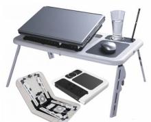 Мултифункционална маса за лаптоп, USB, с 2 бр. охладители