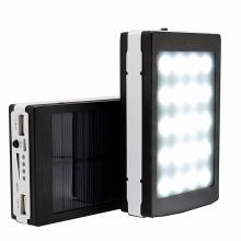 Соларно зарядно - акумулаторна батерия Power Bank 10000 mah