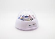 LED Диско лампа, поддържаща МР3 с дистанционно