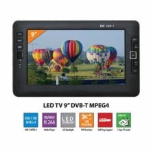 Портативен телевизор 9 инча SANG HD9007 Цифров DVB-T за кола - камион