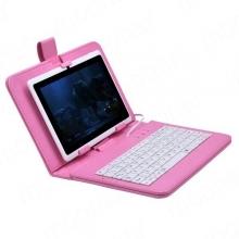 Калъф с клавиатура за 7 инча таблети - micro USB
