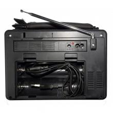 Преносимо FM Радио SD,TF & USB с фенер за къмпинг