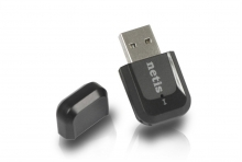 Netis WF2123, 300Mbps Wireless N USB Adapter, вградена антена