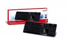 Клавиатура GENIUS SlimStar i250 slim USB, Черна