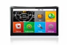 Мощна GPS навигация за камион LEOS A601 - 7 инча + 800MHZ + 256MB RAM + 8GB