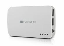 Акумулаторна външна батерия POWER BANK CANYON - 7800mAh