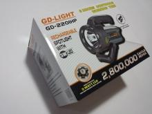 Мощен акумулаторен Led Фенер GD-LIGHT GD-220IHP
