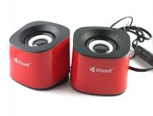 Тонколони Kisonli S-333, 3W, USB, Различни цветове - Del22056