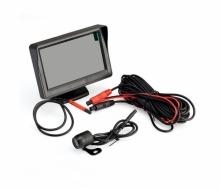 Комплект 4.3 инча монитор + камера за заден ход