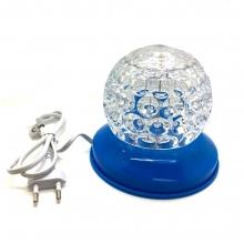 Мини въртяща се LED диско топка в различни цветове