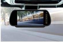 Огледало с вграден монитор 7 инча и камера за задно виждане