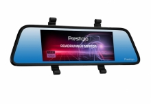 Видеорегистратор огледало за кола PRESTIGIO RoadRunner 405 DL