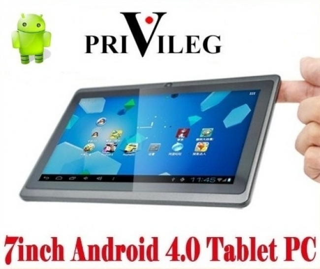 Таблет PRIVILEG MID, 7P ,1GHZ, 4GB, Android 4.0.4