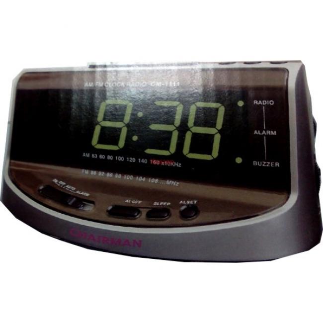 Дигитален часовник - радио CHAIRMAN