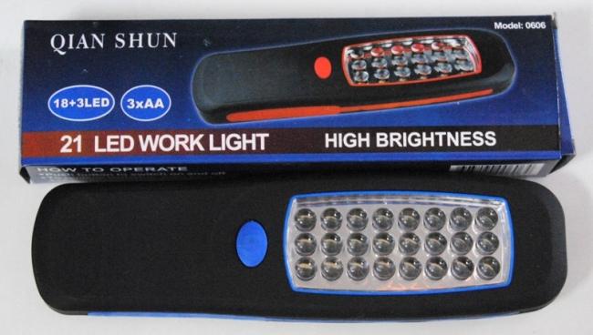 LED фенер с 22 светодиода