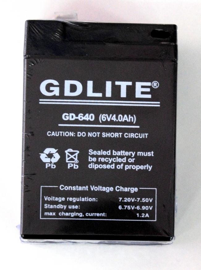 Акумулатор 6V, 4А GDLITE