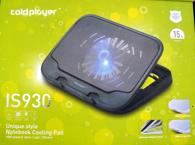 Охладител за лаптоп IS930