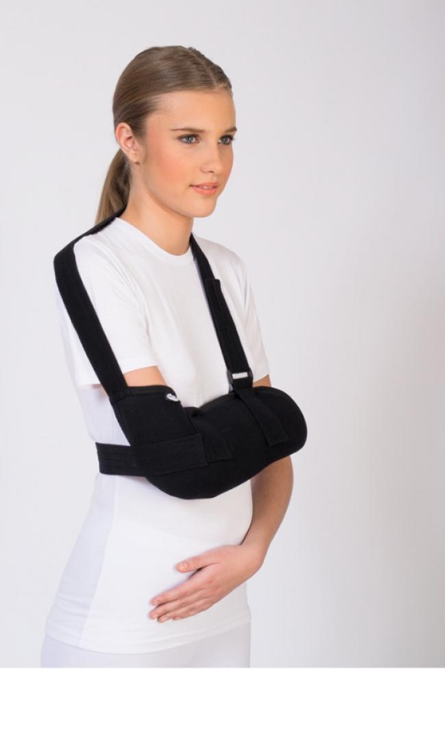 Ортеза за имобилизация на раменната става и ръката
