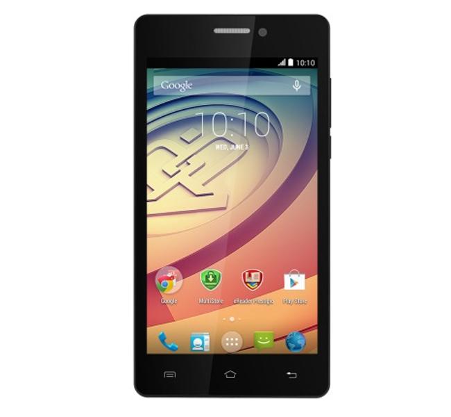 Смартфон Prestigio Wize E3 PSP3509DUO - Две СИМ карти, Сив
