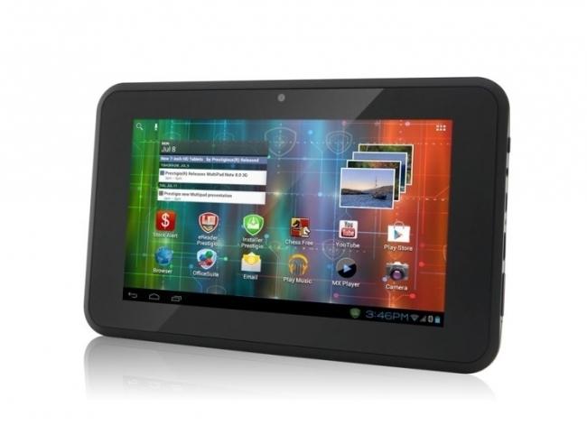 GPS 3G Таблет Prestigio MultiPad 7, Android, SIM, Цифрова ТВ, 2 програми за камион