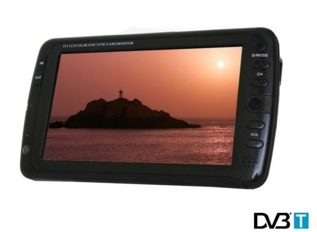 """Портативен 7"""" DVB-T Цифров мултимедиен телевизор SANG 7007TV"""