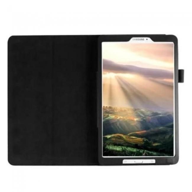 Кожен калъф за таблет Samsung Galaxy Tab A 7.0 (2016) Т280, черен + ПИСАЛКА