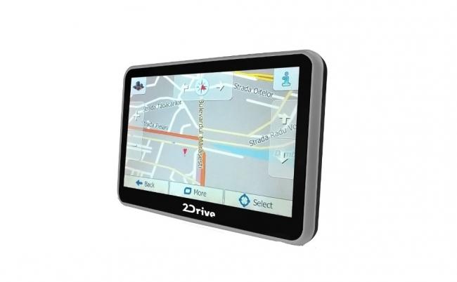 Мощна навигация 2Drive за кола, 7 инча, Bluetooth, 256MB RAM, 8GB