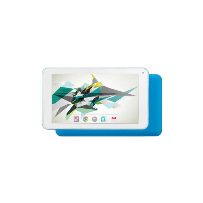 Таблет 7 инча QuadColor Blue - 16GB, Четириядрен + ПОДАРЪК