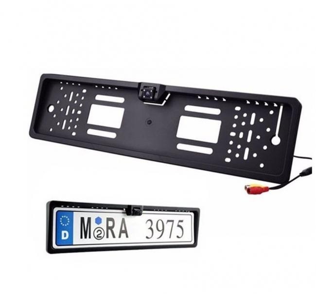 Камера за задно виждане с рамка за номера