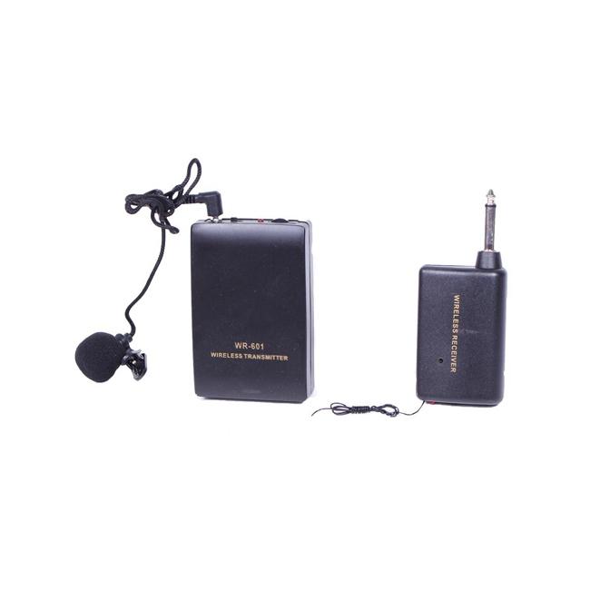 Безжичен Микрофон WR-601 тип Брошка