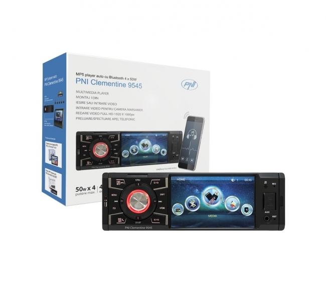 MP5 плеър за кола PNI Clementine 9545 1DIN Дисплей 4 инча, 50Wx4, Bluetooth, FM, SD, USB