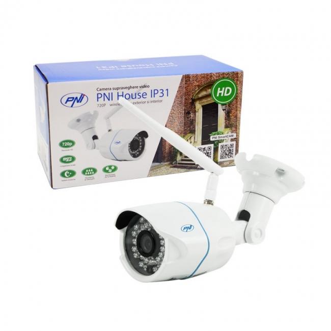 PNI House IP31 1MP 720P безжична IP камера за видеонаблюдение