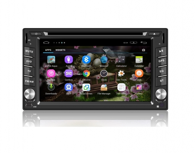 Универсална навигация двоен дин WC6516A с Android, GPS, DVD, WiFi, 6.2 инча