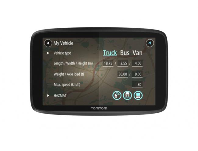 GPS навигация за камион TOMTOM GO PROFESSIONAL 6200 LM WIFI