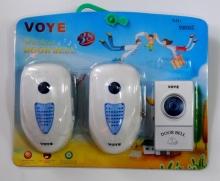 Звънец двоен безжичен VOYE V003A2 - 220V