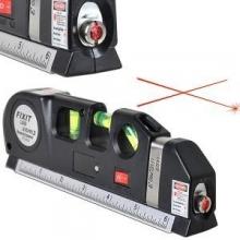 Професионален лазерен нивелир, ролетка 5м