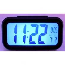 Настолен дигитален часовник с будилник LCD дисплей