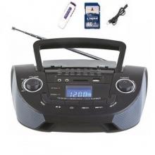 Касетофон с SD,USB, FM, дистанционно управление