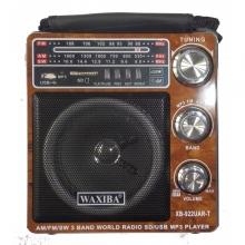 Голямо радио AM/FM/SW - с USB/SD MP3 плейър + прожектор