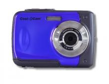 Син цифров фотоапарат iON Cool iCAM S1000 за подводни снимки