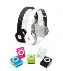 ПРОМОЦИЯ! Аудио слушалки Beats by Dre SOLO (Реплика) + ПОДАРЪК MP3 плеър