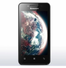 Смартфон Lenovo A319 4 инча, две SIM карти, GPS, ЧЕРЕН