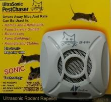 Репелер-уред отблъскващ мишки,хлебарки и паяци с ултразвук