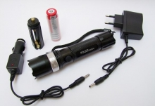 Мощен акумулаторен прожектор за лов и риболов със зелена светлина LED